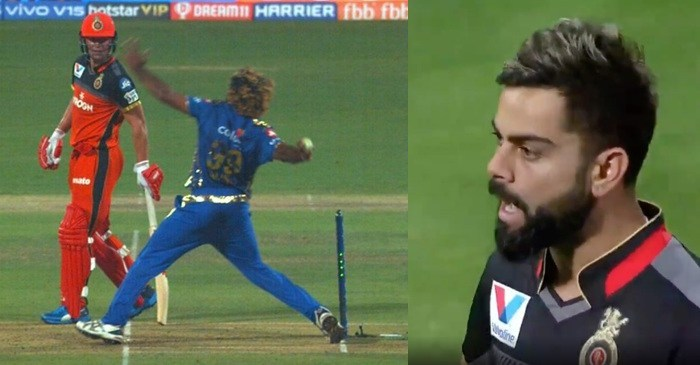 Lasith Malinga No Ball IPL 2019 RCB vs Mumbai Indians
