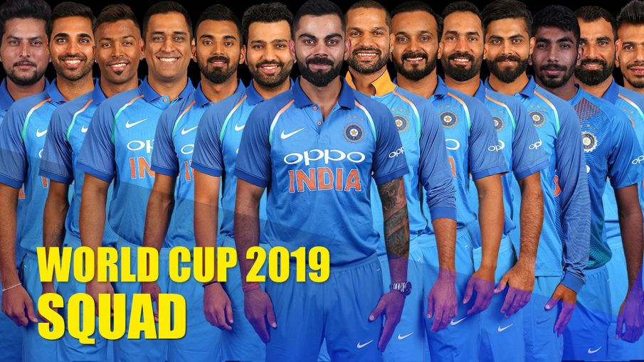 India World Cup 2019 Squad