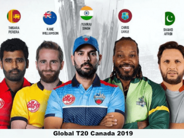 Global T20 Canada 2019: Complete Schedule, Match Timings, Live Streaming and Broadcast Details